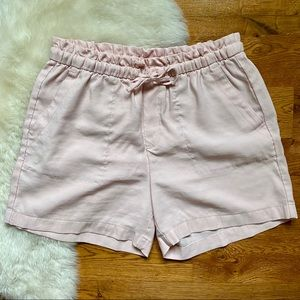 Old Navy Blush Paper Bag Pull On Shorts